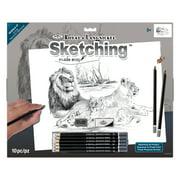 Royal & Langnickel Sketching Made Easy™ Large, Lion Pride