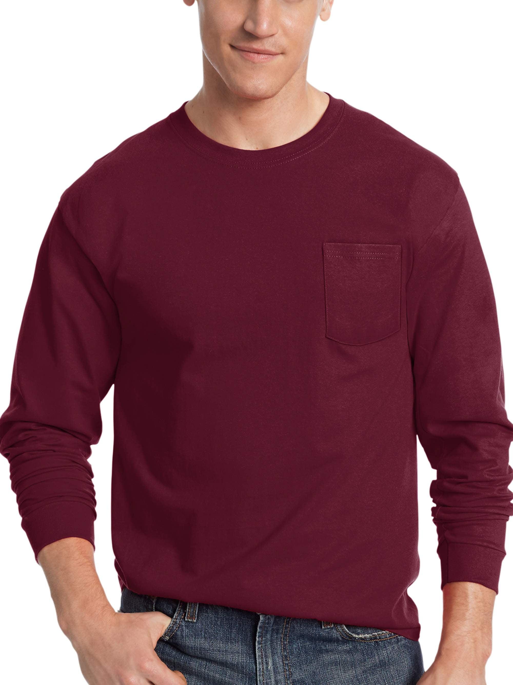 57fcd1167515 Hanes Mens Pocket T Shirt | Azərbaycan Dillər Universiteti