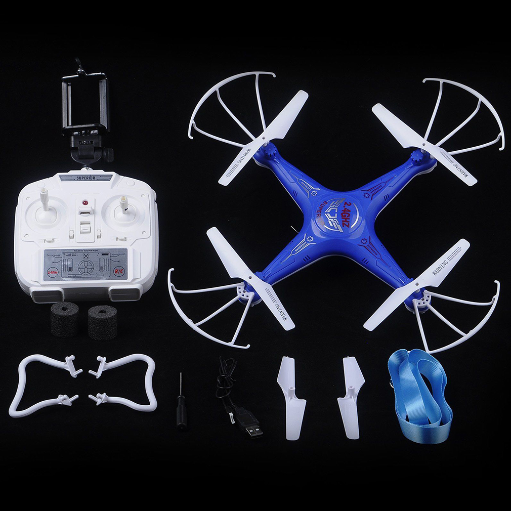 D97 6-Axes 2.4G 4CH Real-time IMages Return RC Quadcopter WIFI Camera Drone~~ by