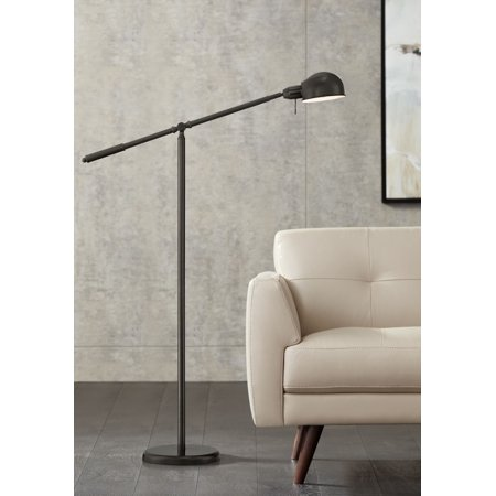 360 Lighting Dawson Dark Bronze Pharmacy Floor (Halogen Pharmacy Floor Lamp)