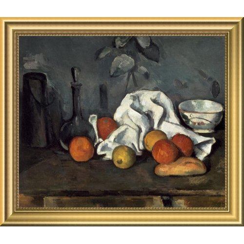 East Urban Home 'Fruits' Framed Oil Painting Print