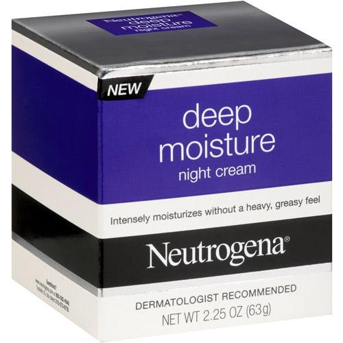 Neutrogena Deep Moisture Night Cream, 2.25 oz