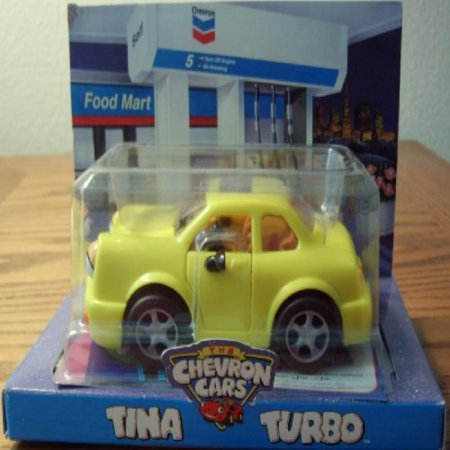 Chevron Toy Car Tina Turbo (Chevron Car)