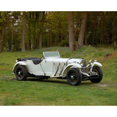 1928 Mercedes Benz 36220 Type S 4-seat sports tourer Country of origin Germany Poster Print