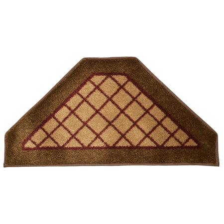 Dean Washable Non Skid Carpet Stair Treads Beige