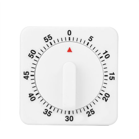 Lux 60 Minute Timer - Portable 60 Minutes Count Down Mechanical Timer Baking Kitchen Cooking Tool Food Preparation, Cooking Timer, Kitchen Mechanical Timer