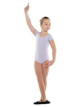 Danshuz Toddler Little Girls Lavender Cap Sleeve Dance Leotard 2/14