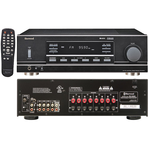 100W Stereo Receiver