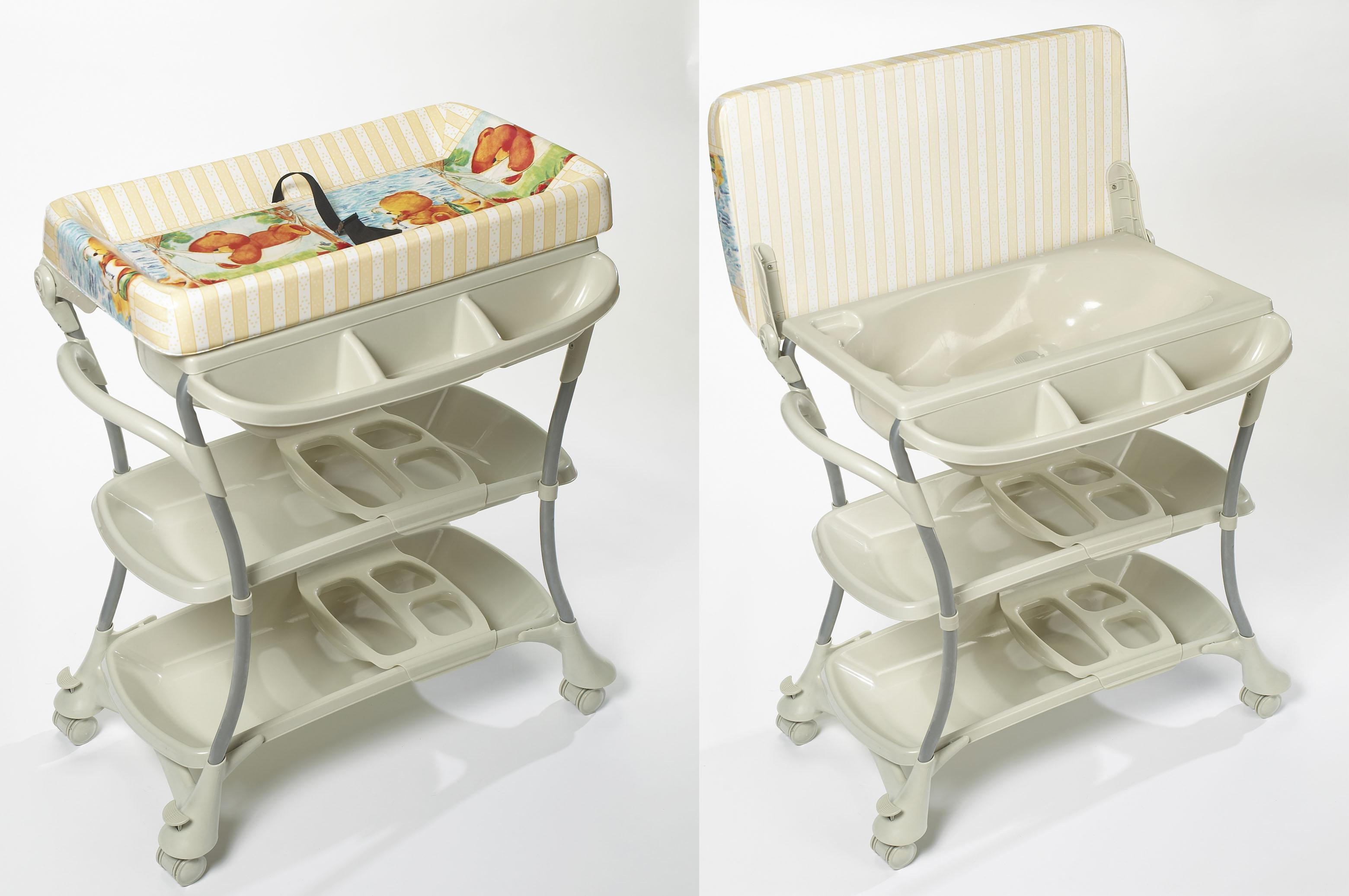 Euro Spa Baby Bath and Changing Table - Walmart.com