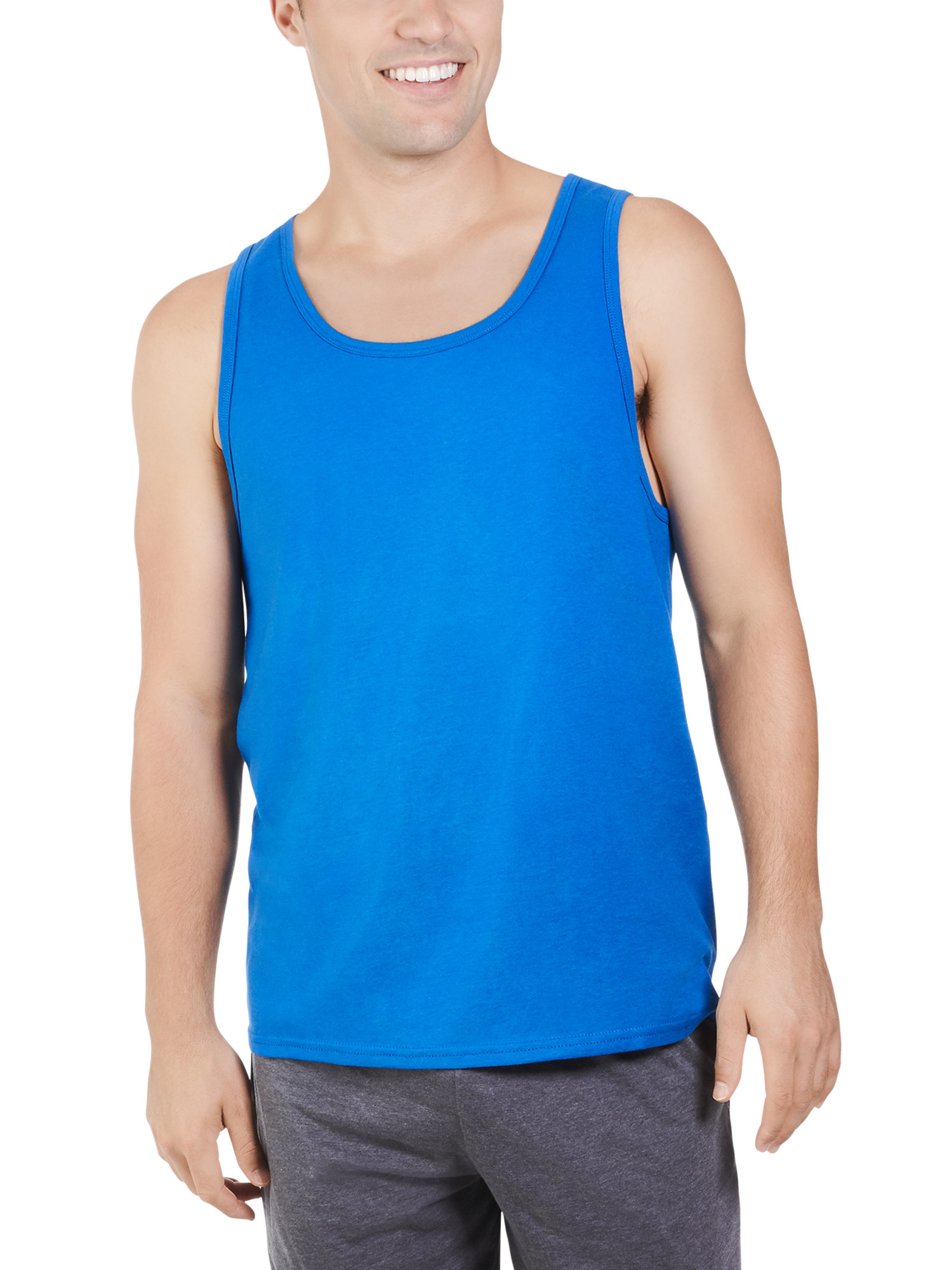 Big Men's Dual Defense UPF Tank, Available up to sizes 4XL