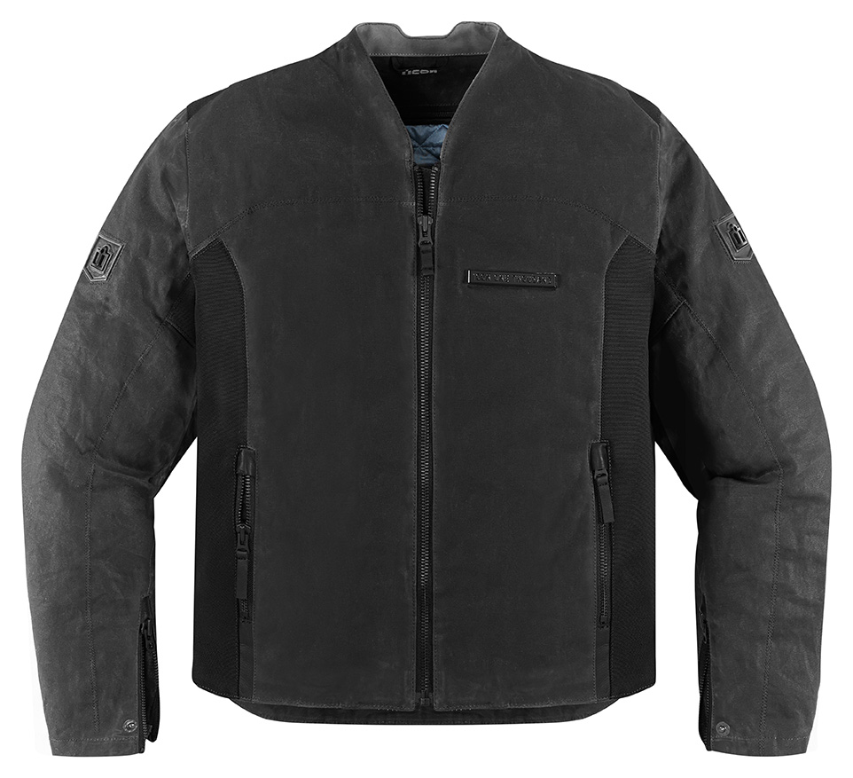 Icon 1000 Oildale Mens Jacket Black