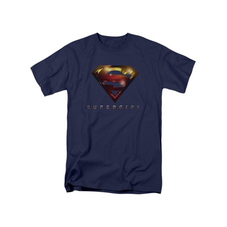 Supergirl Iconic DC Comic Book Character Television Show Logo Adult T-Shirt Tee - Supergirl T Shirt For Kids