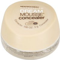 Maybelline New York Dream Smooth Mousse Corrector Concealer, 20 Classic Ivory, 0.106 Oz.
