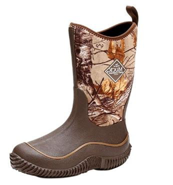 Muck Boots Kids Hale Camo Snow Boot Brown Realtree Extra Mini Breathable Foam Y3 by Muck Boots