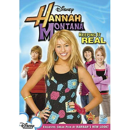 Keeping It Real (DVD) - Hannah Montana Halloween Movie