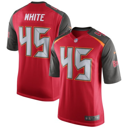 Devin White Tampa Bay Buccaneers Nike 2019 NFL Draft First Round Pick Game Jersey - Red (Nfl Drift Jersey)