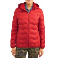 Time and Tru Women's Puffer Coat with Hood (various colors/sizes)