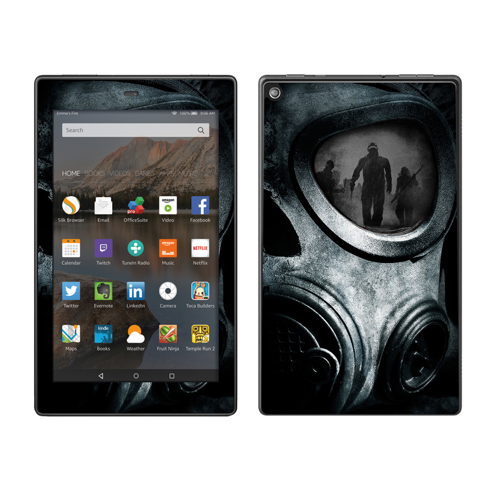 Skins Decals For Amazon Fire Hd 8 Tablet   Gas Mask War Apocolypse by Itsaskin