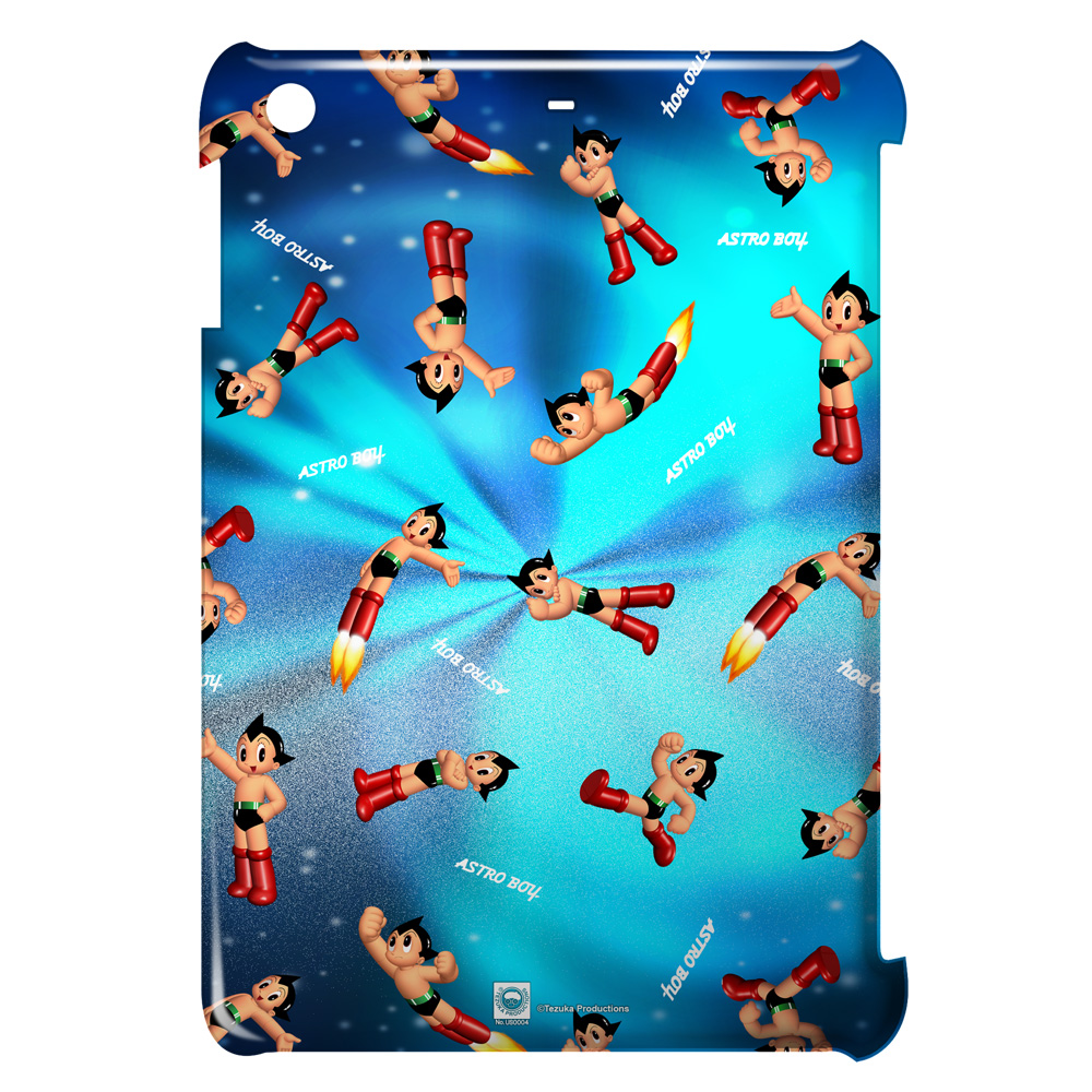 Astro Boy Pattern Ipad Mini Case White Ipm