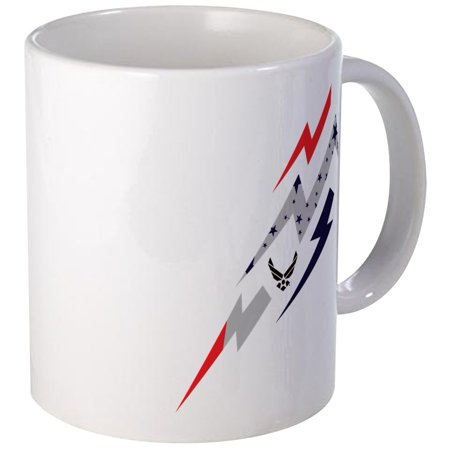 CafePress - USAF Lightning - Unique Coffee Mug, Coffee Cup CafePress (Lightning Cut)