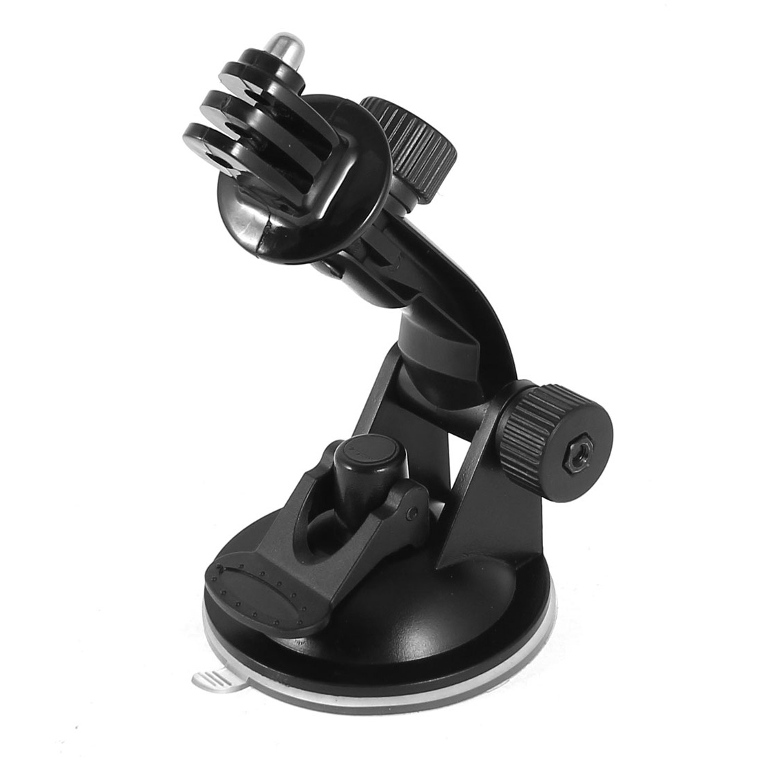 Suction Cup Mounting Stand + Tripod Mount Adapter Black for GoPro HD HERO3/2/1