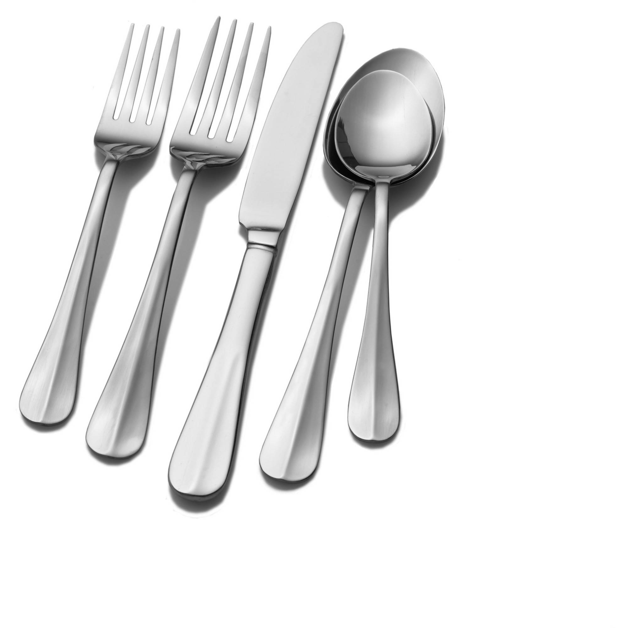 International Silver Simplicity 18-Piece Stainless Steel Flatware Set