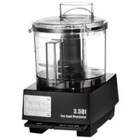 Waring Commercial WFP14SW Sealed Space-Saving Batch Bowl Food Processor with LiquiLock Seal System, 3-1/2-Quart