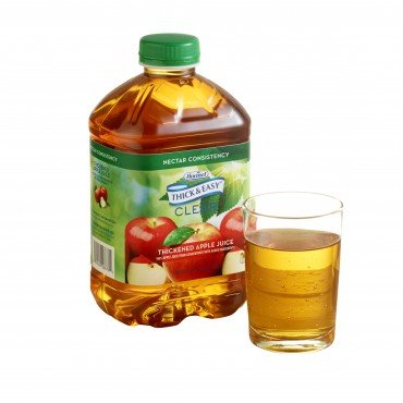 Hormel Thick & Easy Thickened Apple Juice, Nectar, 48 Ounce Bottle, 28876 - Case of - Apple Cobbler Easy