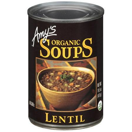 Amy's Organic Vegan Lentil Soup, 14.5