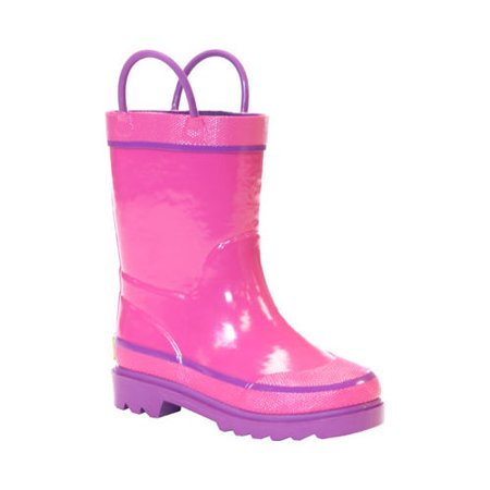 Infant Girls' Western Chief Solid Rain Boot