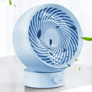 Battery Operated Fan, USB Fan Small Desk Quiet Rechargeable Portable Fan Design for Home Office Car Outdoor Travel