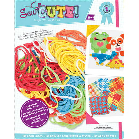 Classic Pot Holder Loom (Colorbok Sew Cute Loom Loop Refill )