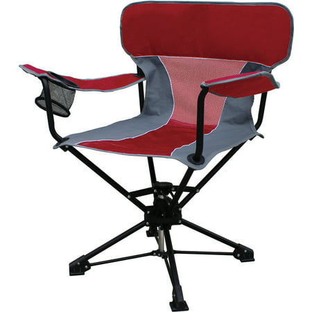 Ozark Trail Portable Swivel Chair - Walmart.com