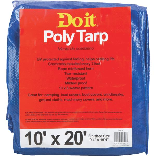 10X20 BLUE MED DUTY TARP 709123