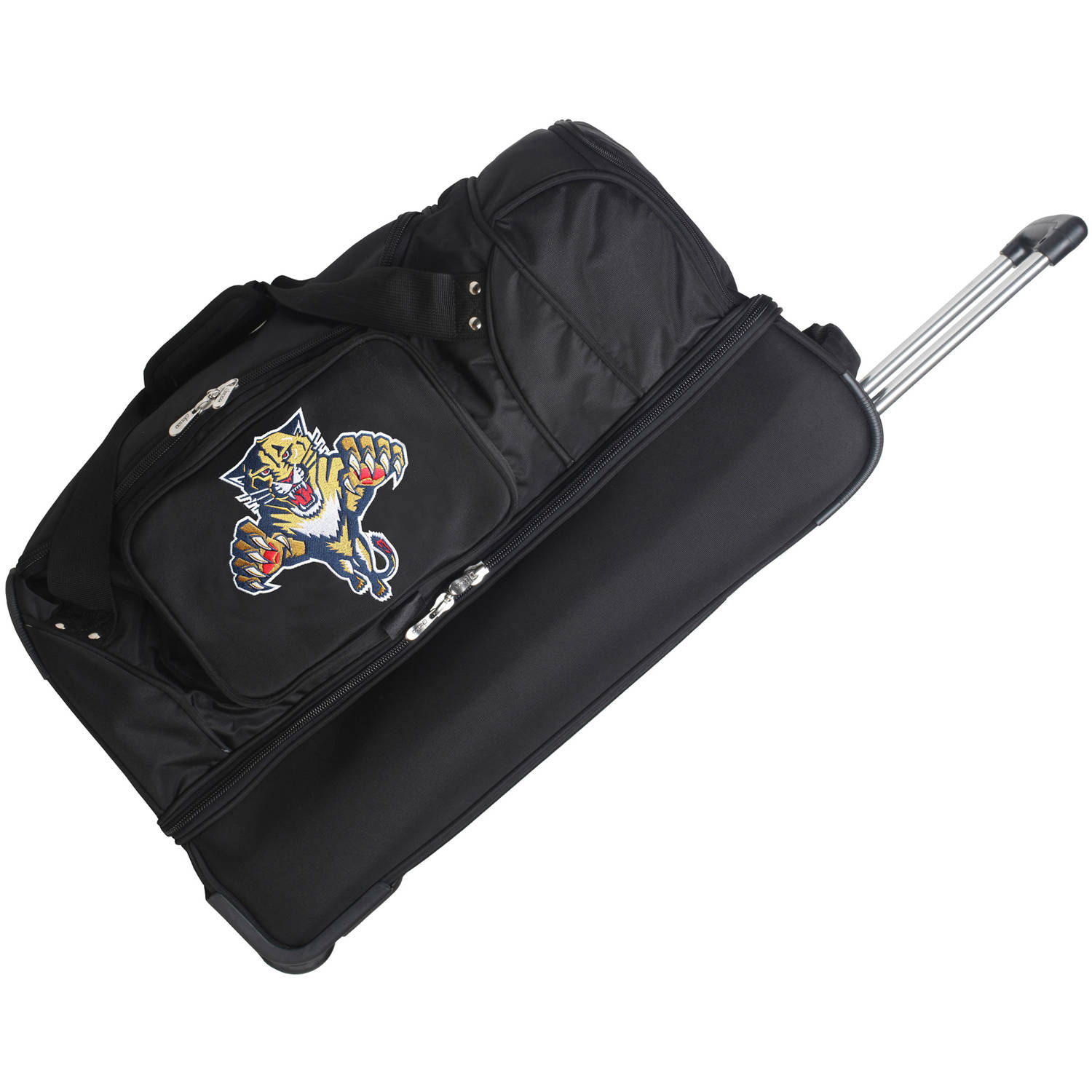 "Denco NHL 27"" Rolling Drop Bottom Duffel, Florida Panthers by Mojo Licensing"