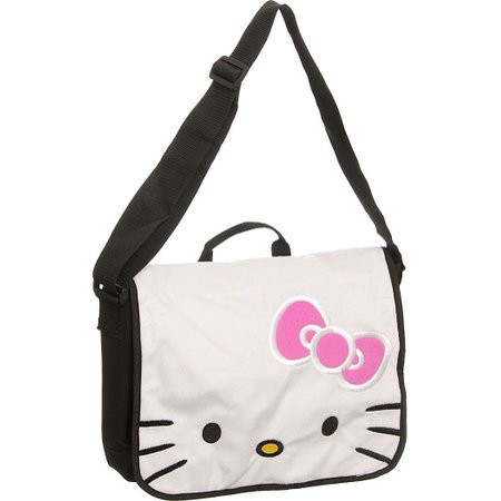 Messenger Bag - Hello Kitty - HK Face School Bag New 811881 - Hello Kitty Accessories Wholesale