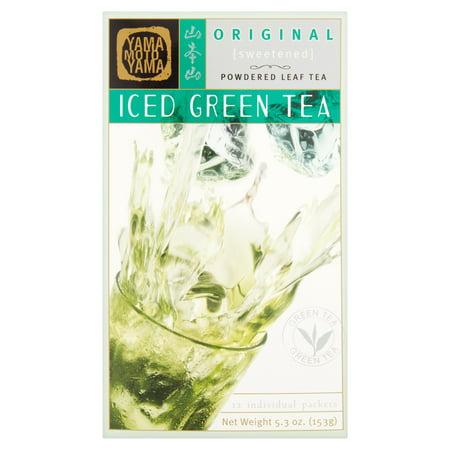 Yamamotoyama Powdered Leaf Tea Original Sweetened Iced Green Tea, 5.3 Oz, 1