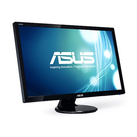 Backlight Lcd (ASUS VE 27 Full HD (1920x1080) 2ms GTG HDMI Widescreen LED Backlight LCD Monitor Color Black Model VE278Q )