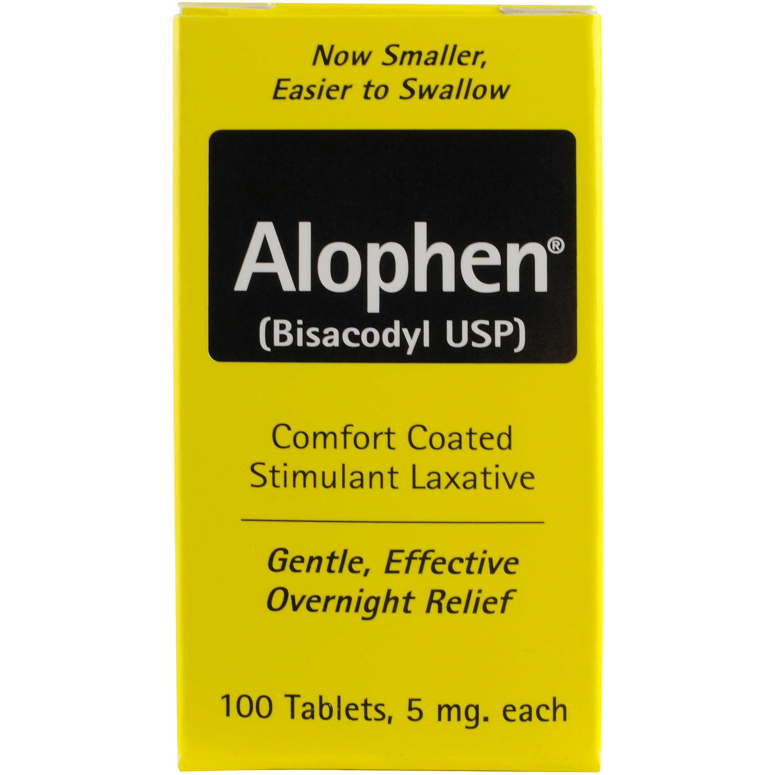 Alophen Laxative, 100 Ct