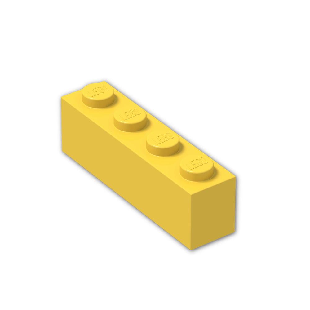 10 1x4 Red Standard Plate Bricks ~ Lego ~ NEW ~ Castle