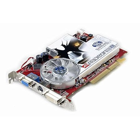 SAPPHIRE 100158 Sapphire ATI Radeon X1600Pro 512MB DVI/VGA/TV-Out AGP Video Card, Lite