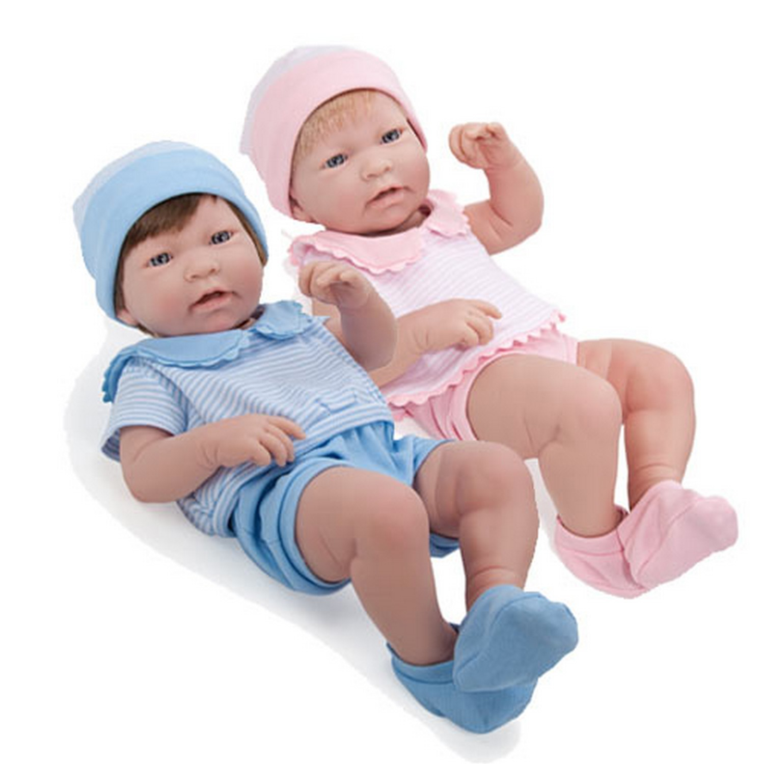 Ababy So Lifelike Real Twin Baby Dolls