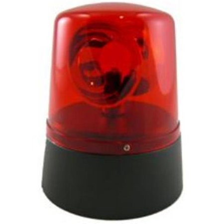 Mini Novelty Police Beacon Battery Operated - Red - Red Police Beacon