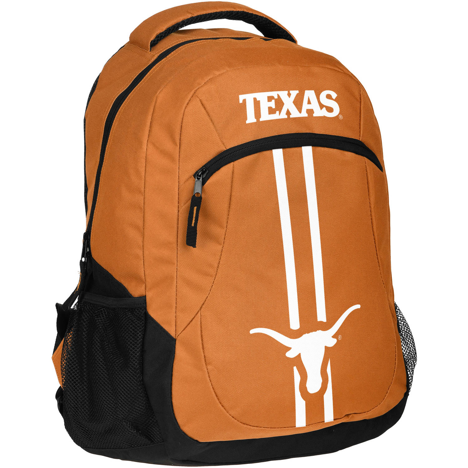 Forever Collectibles NCAA University of Texas Longhorns Action Stripe Logo Backpack