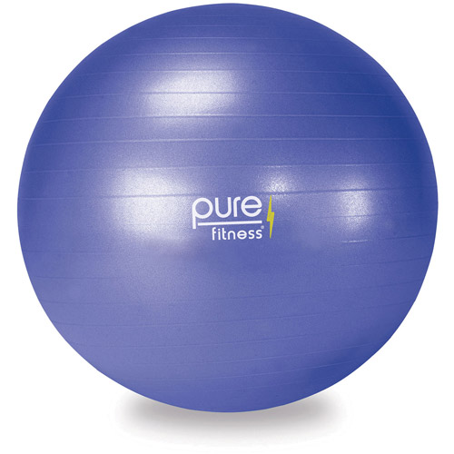 Pure Fitness 65cm Fitness Ball with Pump