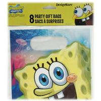 SpongeBob 'Epic' Favor Bags (8ct), 8 per pack By Designware