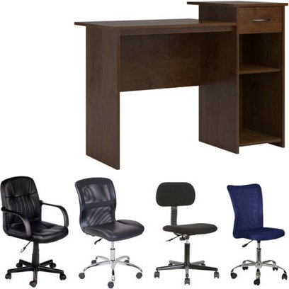 Mainstays Student Desk + Your Choice of Office Chair