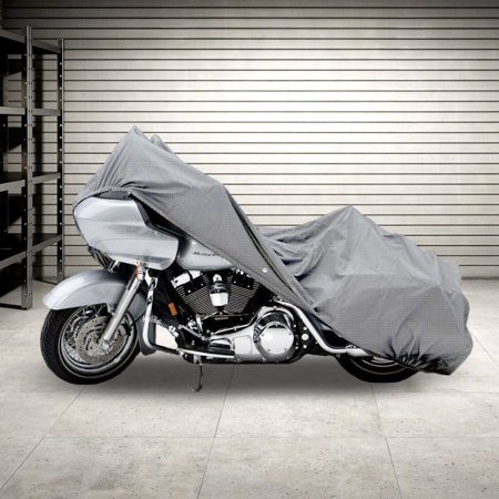 Motorcycle Bike 4 Layer Storage Cover Heavy Duty For Harley Davidson Road King Classic