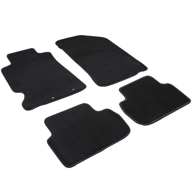 Spec-D Tuning For 2002-2006 Acura RSX Black Floor Mats