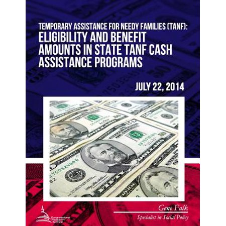 Temporary Assistance For Needy Families Tanf Eligibility And Benefit Amounts In State Tanf